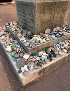 Memory stones in Swanage