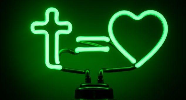 Cross and Heart Light
