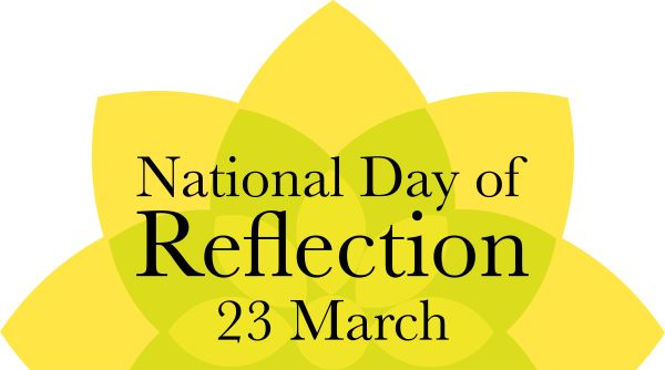 National Day of Reflection Flower 23 March