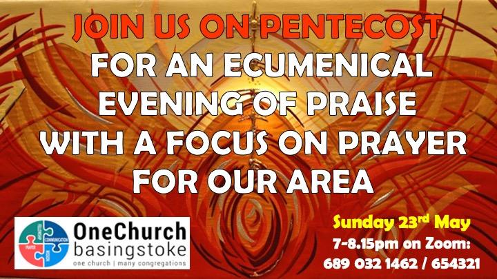 Pentecost Praise Advert