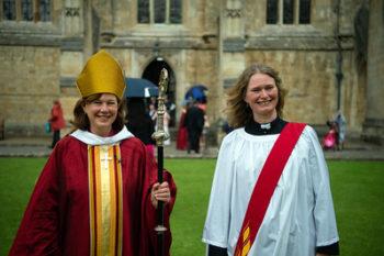 Bishop Debbie and Rev Kim