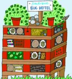 Cartoon Bug hotel