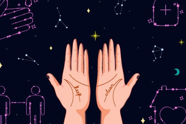 Cartoon hands
